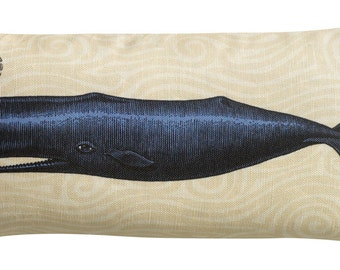 Blue Nautical Maine Whale Sachet Filled with Lavender