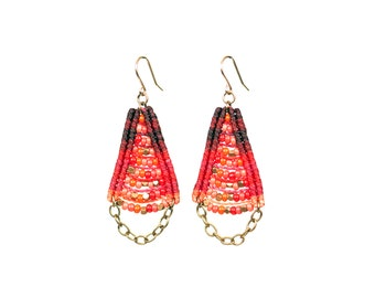 Woven Temple Earrings New Colors