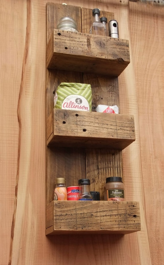 rustic wood bathroom shelves rustic kitchen bathroom storage shelves made from 20301