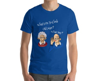 Funny Old People T-Shirt, Gag Gift For Old People, Senior Citizen T-Shirt, Funny Old People Shirt, Old Man And Woman T-Shirt