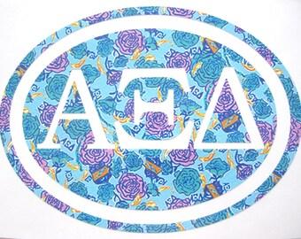 Alpha Xi Delta Sticker Decal Sorority - Great Initiation, Bid Day or Big Little Gift!