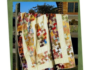 Charmingly Twisted Quilt Pattern (DIGITAL COPY)