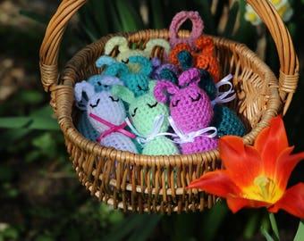 Crochet Easter Egg Bunny pattern