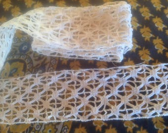 Vintage full lace crochet