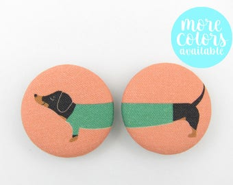 Dachshund in a Sweater Magnets | Dachshund Magnets | Refrigerator Magnets | Office Magnets | Gifts Under 5 | Gifts for Her | Dachshund | Dog