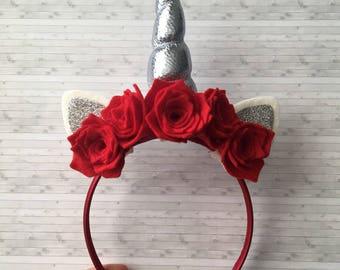 Unicorn Horn Headband, fancy dress headwear, unicorn headband choice of colours/styles, unicorns
