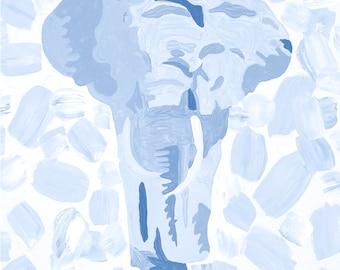 Colorful Elephant Print 8 X 10