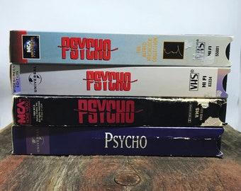 PSYCHO VHS STACK