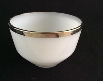 Federal bowl gold trim