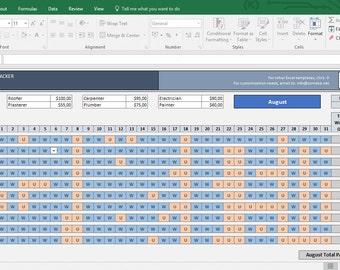 project management timesheet template