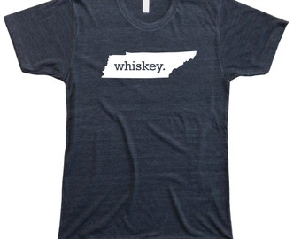 Homeland Tees Men's Tennessee Whiskey T-Shirt