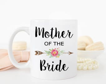 Mother of Bride Gift, Wedding Mug, Mother of the Bride Mug, Wedding Gift, Gift for Mom, Mother-in-law Gift, Mother of the Groom