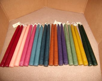Mole Hollow 8 inch Taper Candles