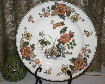 Wedgwood Eastern Flowers//Dinner Plates//Four Available//Made in England & Wedgwood china   Etsy