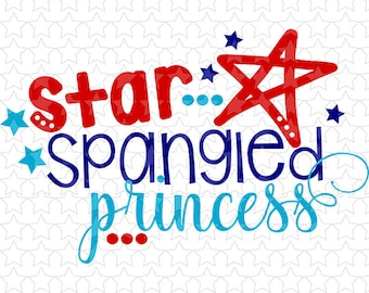 0112 Star Spangled Princess