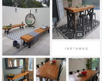 Reclaimed Timber Dining Collection