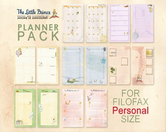 Planner pack for PERSONAL planner