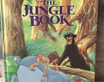 Vintage 1990 A Big Golden Book The Jungle Book, The Jungle Book