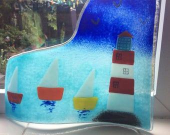 Marine - Fused Glass