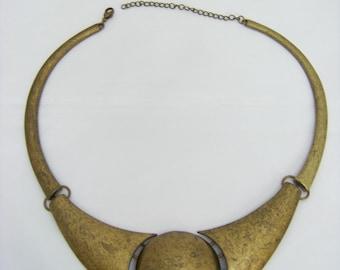 Antique Bronze Choker  3422
