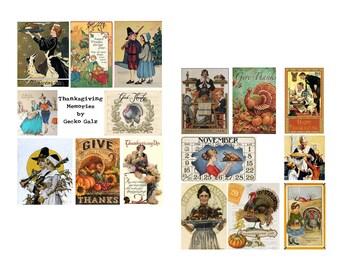 Thanksgiving Memories Digital collage set