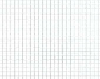 Windham Heather Givans Jot Clearwater White Graph Paper Gray 50458-9 Fabric BTY