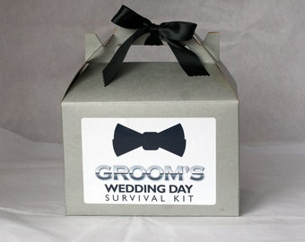 Groom's Wedding or Bachelor Party Survival Kit