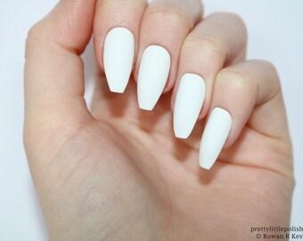 Matte white coffin nails, Nail designs, Nail art, Nails, Stiletto nails, Acrylic nails, coffin nails, Fake nails, False nails
