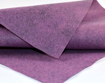 Hydrangea Felt, Felt by the Yard, Merino Wool Felt, Wool Blend Felt, Wool Felt Yardage, Wool Felt Fabric, Merino Wool Blend Felt, Felt