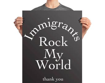 Dreamers Poster, Dreamers Sign, Immigration Poster, DACA Sign, DACA Poster, Immigration Sign, Immigration Protest, Defend Dreamers, Anti Tru