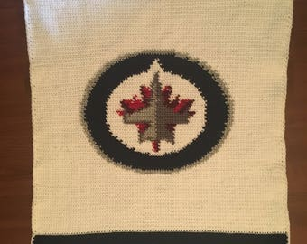 Winnipeg Jets Baby Blanket
