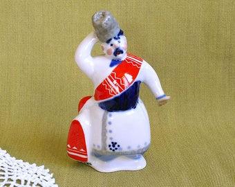 Soviet porcelain figurine Matchmaker Wedding Antiques unique Collectible figurine Vintage porcelain sculpture Retro Old Home decor Gift idea