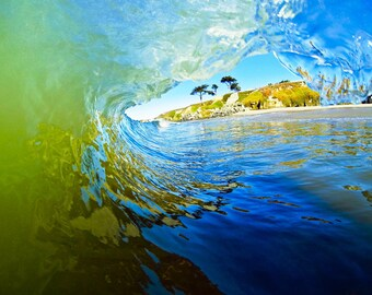 Ocean Surf Wave California Photography Print