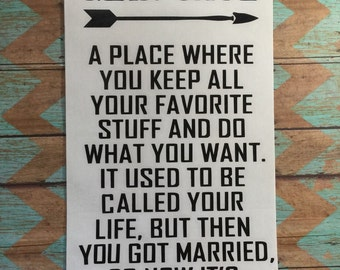 Cool Man Cave Wall Art : Black wall decor gift for groom letters man cave