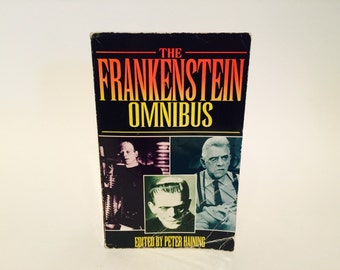 Vintage Non-Fiction Book The Frankenstein Omnibus 1995 UK Edition Paperback