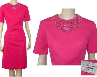 Reception Ready - Vintage 1960's Dress - Large