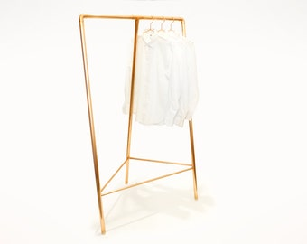 TriRack Copper Clothing Rack (Triangle Rack)