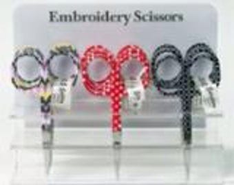 SALE Embroidery scissors  assorted designs