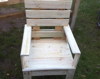Light garden chair