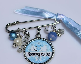 Mommy To Be Baby Pin Brooch