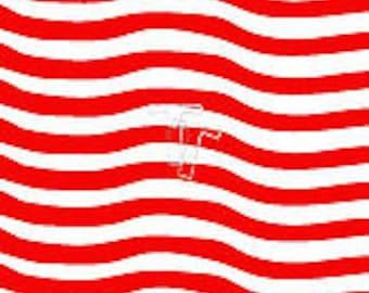 Wavy Stripes Stencil By 2t's