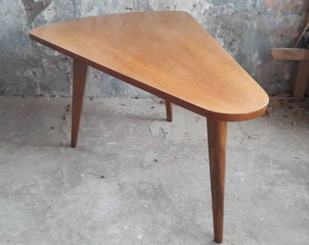 Beautiful Big Vintage Wooden Coffee Table