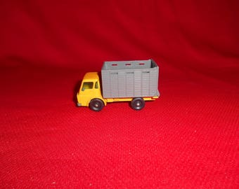 One (1), Lesney Matchbox No. 37,  Cattle Truck.