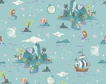 extra15 20% OFF Riley Blake Designs Neverland Island Mint