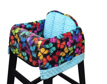 Butterfly High Chair Cover Restaurant Use