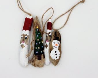driftwood Christmas decorations