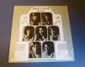 Three Dog Night Harmony Vinyl Record LP DSX 50108 Dunhill Records 1971
