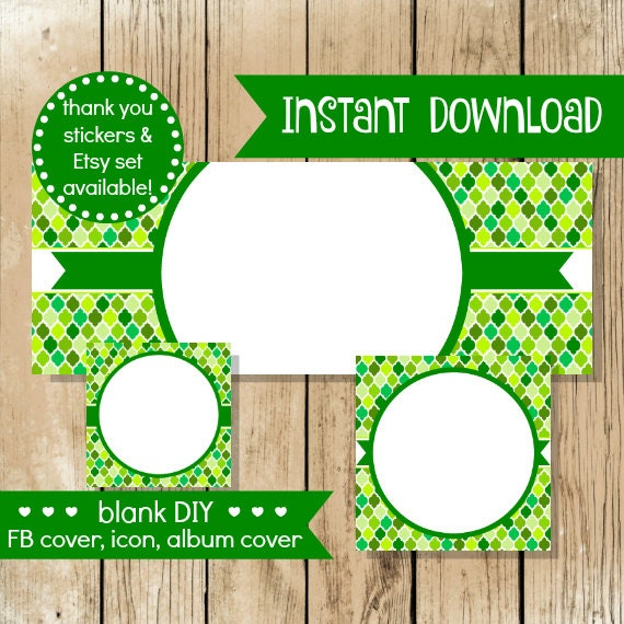 Blank diy facebook set st patty quatrefoil do it yourself blank diy facebook set st patty quatrefoil do it yourself blank facebook cover st patricks day blank facebook set instant download solutioingenieria Image collections