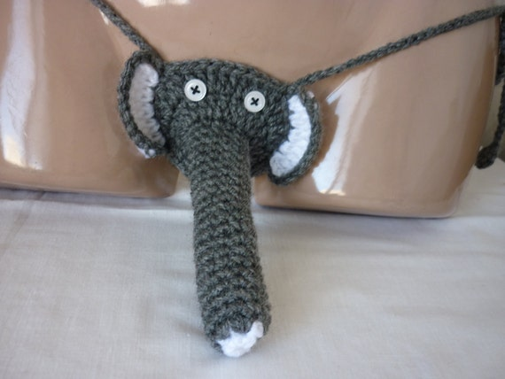 Crochet Elephant Sexy Men's Thong Men thongs string - photo#39