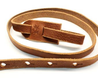 F Style Mandolin Strap, Chestnut Brown Leather Mandolin Strap, Bluegrass, Americana, Roots, Country, Leather Strap, Mandolin, Leather,